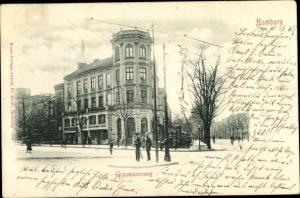 Ak Hamburg Altstadt, Graumannsweg