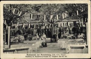 Ak Hamburg Altstadt, Restaurant zur Mundsburg