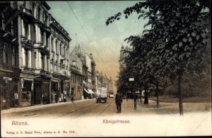 Ak Hamburg Altona, Königstraße