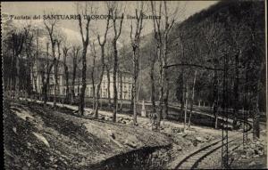 Ak Biella Piemonte, Santurio Di Oropa, Waldpartie, Linea Elettrica