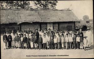 Ak Chaudoc Châu Đốc Vietnam, Ecole Franco Annamite