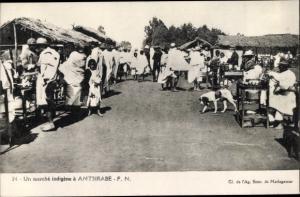Ak Antsirabe Madagaskar, Un marche indigene