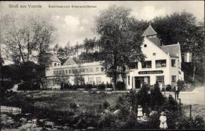 Ak Voorde Flintbek in Schleswig Holstein, Eiderschlösschen
