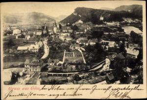 Ak Göss Leoben Steiermark, Panorama