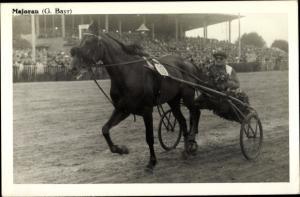 Ak Rennpferd Majoran, Jockey G. Bayr