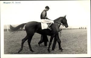 Ak Rennpferd Magnat, Jockey G. Streit