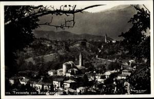 Foto Ak Sala Capriasca Kanton Tessin, Panorama vom Ort