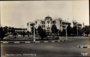Foto Ak Johannesburg Südafrika, Clarendon Circle