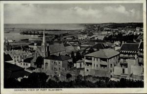 Ak Cape Town Kapstadt Südafrika, General view of Port Elizabeth