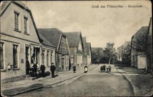 Ak Friesoythe im Oldenburger Münsterland, Kirchstraße