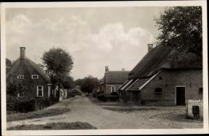 Ak Norg Midden Drenthe Drenthe Niederlande, Pompstraat