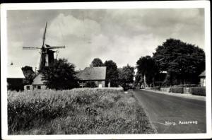 Ak Norg Midden Drenthe Drenthe Niederlande, Asserweg