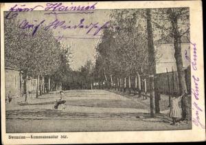 Ak Švenčionys Swenzian Litauen, Kommaneantur Straße