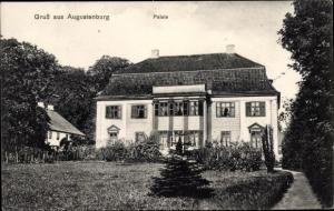 Ak Augustenborg Augustenburg Sønderborg Sönderborg Dänemark, Palais