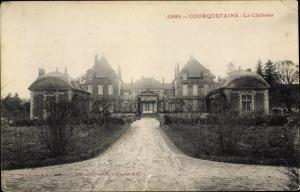 Ak Courquetaine Seine et Marne, Le Chateau