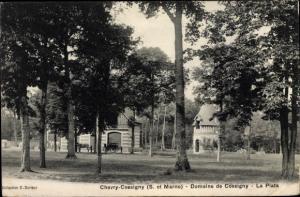 Ak Chevry Cossigny Seine et Marne, Domaine de Cossigny, La Plata