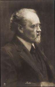 Ak Schriftsteller Emile Zola, Portrait