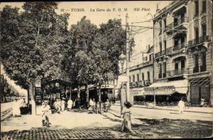 Ak Tunis Tunesien, La Gare du TGM