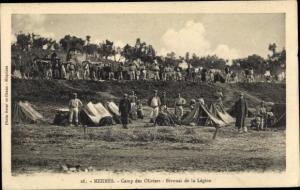 Ak Meknès Marokko, Camp des Oliviers, Bivouac de la Legion