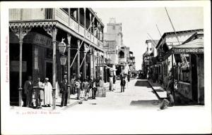 Ak Suez Ägypten, Rue Komar