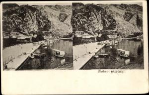 Ak Kotor Cattaro Montenegro, Pristav, Anlegestelle