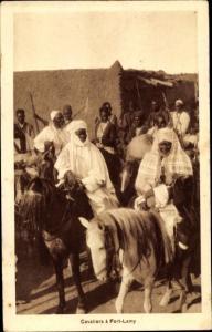 Ak N Djamena Fort Lamy Tschad, Cavaliers
