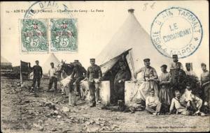 Ak Tafoughalt Aïn Marokko, L'Interieur du Camp, La Poste