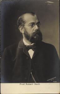 Ak Professor Robert Koch, Portrait