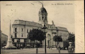 Ak Arad Rumänien, Az uj Minorita templom