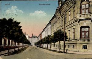 Ak Arad Rumänien, Erzsebet korut