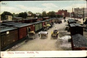 Ak Norfolk Virginia USA, Shipping Strawberries