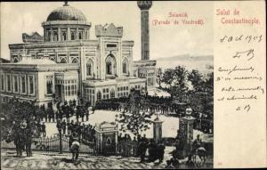 Ak Konstantinopel Istanbul Türkei, Selamlik, Paraade de Vendredi