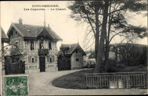 Ak Coulommiers Seine et Marne, Les Capucins, Le Chalet