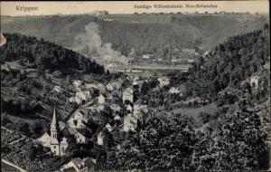 Ak Krippen Bad Schandau Sächsische Schweiz, Sendigs Villenkolonie