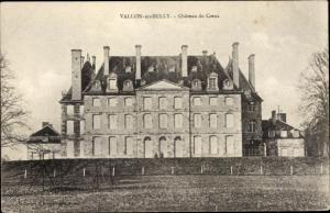 Ak Vallon en Sully Allier, Chateau du Creux, vue générale