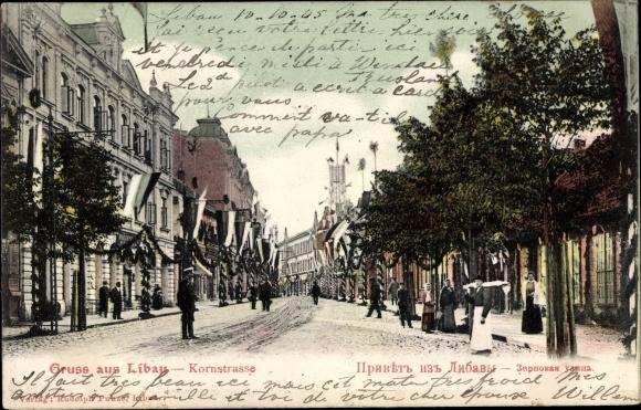 Ak Liepaja Libau Lettland, Kornstraße 0