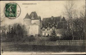 Ak Bourbonnais Allier, Boucé, Chateau, vue générale, cloture