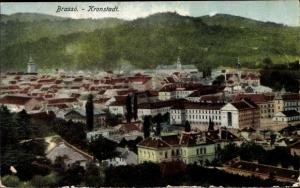 Ak Brassó Brașov Kronstadt Rumänien, Panorama