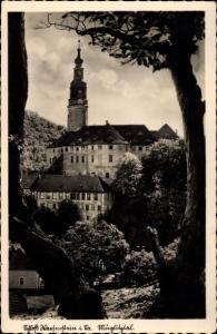 Ak Weesenstein Müglitztal in Sachsen, Schlossgasthof Weesenstein