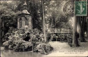 Ak Rosay Yvelines, Dans le Parc, le Kiosque