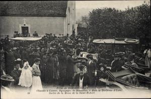 Ak Rambouillet Yvelines, Chasses a Courre, Equipages de Bonneles, a Mme la Duchesse d'Uzes