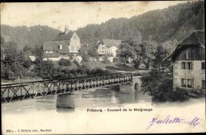 Ak Fribourg Freiburg Stadt Schweiz, Couvent de la Maigrauge