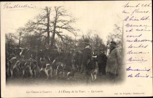 Ak Rambouillet Yvelines, Chasse Courree, A l'Etang de la Tour