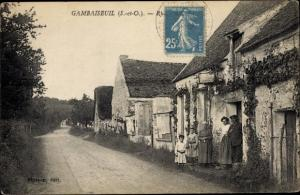 Ak Gambaiseuil Yvelines, Rue