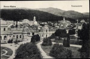 Ak Vatra Dornei Dorna Watra Rumänien, Totalansicht