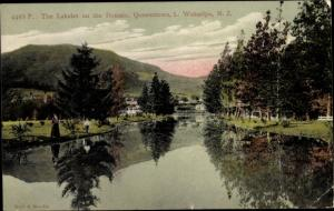 Ak Queenstown Neuseeland, The Lakelet on the Domain, Wakatipu