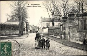 Ak Trappes Yvelines, Rue de Montfort
