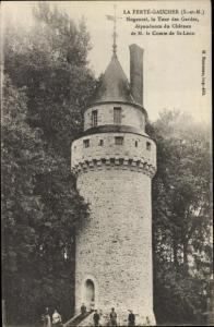 Ak La Ferté Gaucher Seine et Marne, Nogentel la Tour des Gardes