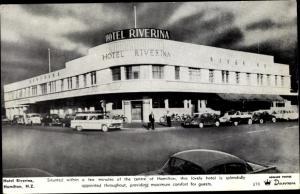 Ak Hamilton Māori Kirikiriroa Neuseeland, Hotel Riverina