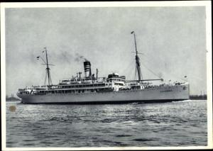 Ak Dampfschiff Ussukuma, Deutsche Afrika Linien, DOAL
